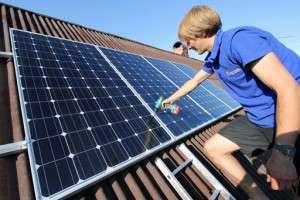 солнечную электростанцию своими руками